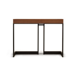 wishbone 2-drawer high table | Mesas consola | Skram