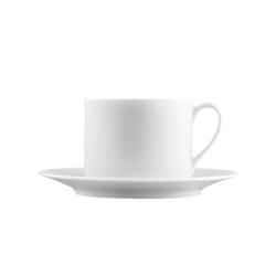 TAPA Cappuccino cup, Saucer | Dinnerware | FÜRSTENBERG