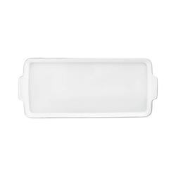 WAGENFELD PLATIN Sandwichplate | Dinnerware | FÜRSTENBERG