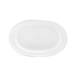 WAGENFELD PLATIN Platter oval | Dinnerware | FÜRSTENBERG