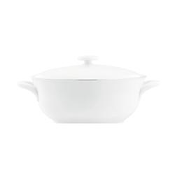 WAGENFELD PLATIN Casserole | Dinnerware | FÜRSTENBERG