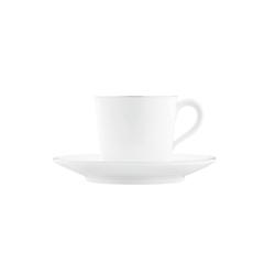 WAGENFELD PLATIN Espresso cup, Saucer | Dinnerware | FÜRSTENBERG