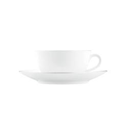 WAGENFELD PLATIN Cappuccino cup, Saucer | Vajilla | FÜRSTENBERG