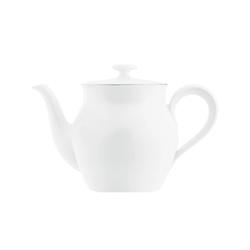 WAGENFELD PLATIN Teapot | Dinnerware | FÜRSTENBERG