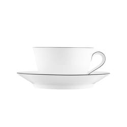 WAGENFELD SCHWARZE LINIE Breakfast cup, Saucer | Dinnerware | FÜRSTENBERG