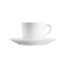 WAGENFELD WEISS Coffee cup | Dinnerware | FÜRSTENBERG