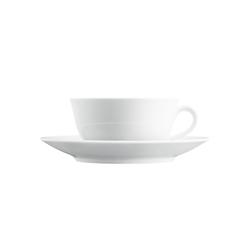WAGENFELD WEISS Tea cup | Dinnerware | FÜRSTENBERG