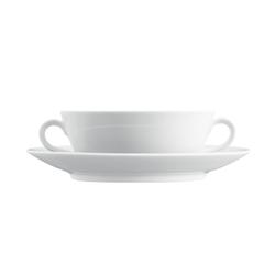 WAGENFELD WEISS Soup cup | Dinnerware | FÜRSTENBERG