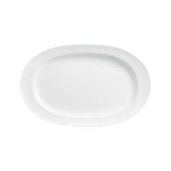 WAGENFELD WEISS Platter oval | Dinnerware | FÜRSTENBERG