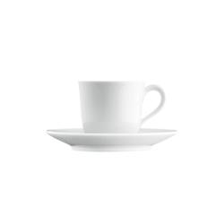 WAGENFELD WEISS Espresso cup, Saucer | Dinnerware | FÜRSTENBERG