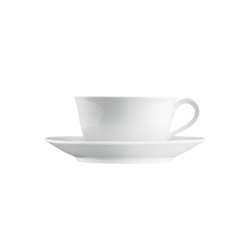 WAGENFELD WEISS Cappuccino cup, Saucer | Services de table | FÜRSTENBERG