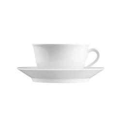 WAGENFELD WEISS Breakfast cup, Saucer | Dinnerware | FÜRSTENBERG