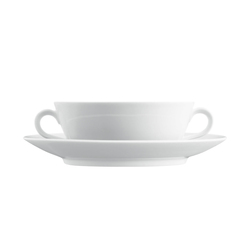 WAGENFELD WEISS Soup cup, Saucer | Services de table | FÜRSTENBERG