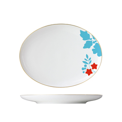 MY CHINA! EMPEROR`S GARDEN Plate oval | Services de table | FÜRSTENBERG