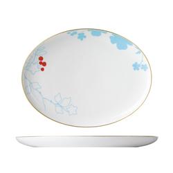 MY CHINA! EMPEROR`S GARDEN Plate oval | Dinnerware | FÜRSTENBERG