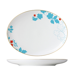 MY CHINA! EMPEROR`S GARDEN Platter oval | Services de table | FÜRSTENBERG