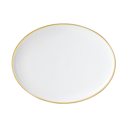 MY CHINA! TREASURE GOLD Plate oval | Services de table | FÜRSTENBERG
