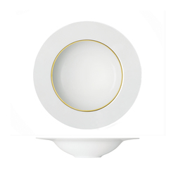 MY CHINA! TREASURE GOLD Pasta plate flat | Dinnerware | FÜRSTENBERG