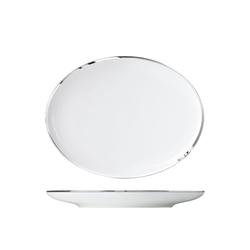MY CHINA! TREASURE PLATINUM Plate oval, small   Dinnerware   FÜRSTENBERG