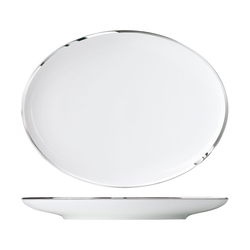 MY CHINA! TREASURE PLATINUM Platter oval | Dinnerware | FÜRSTENBERG