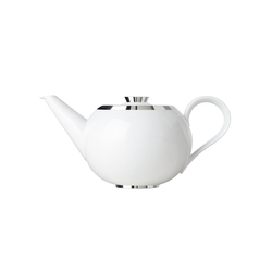 MY CHINA! TREASURE PLATINUM Teapot with tea strainer | Dinnerware | FÜRSTENBERG