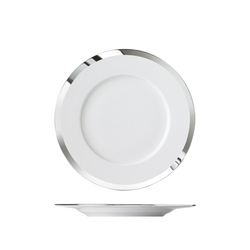 MY CHINA! TREASURE PLATINUM Bread plate   Dinnerware   FÜRSTENBERG