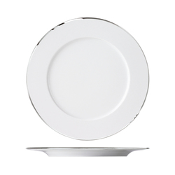 MY CHINA! TREASURE PLATINUM Dinner plate | Dinnerware | FÜRSTENBERG