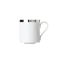 MY CHINA! TREASURE PLATINUM Coffee mug | Dinnerware | FÜRSTENBERG