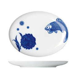 MY CHINA! WUNDERKAMMER Plate oval | Services de table | FÜRSTENBERG