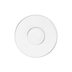 CARLO PLATINO Gourmet plate | Dinnerware | FÜRSTENBERG