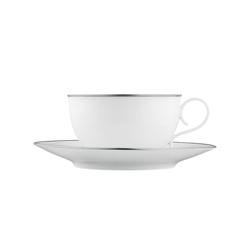 CARLO PLATINO Tea cup | Dinnerware | FÜRSTENBERG