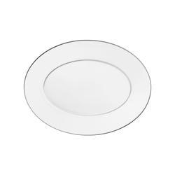 CARLO PLATINO Platter oval | Dinnerware | FÜRSTENBERG