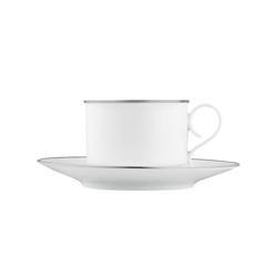 CARLO PLATINO Coffee cup, saucer | Services de table | FÜRSTENBERG