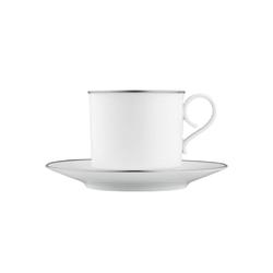 CARLO PLATINO Cappuccino cup, saucer | Dinnerware | FÜRSTENBERG