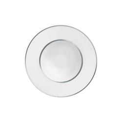 CARLO PLATINO Plate deep | Dinnerware | FÜRSTENBERG