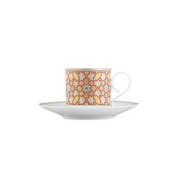 CARLO RAJASTHAN Espresso cup, saucer | Dinnerware | FÜRSTENBERG