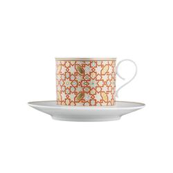 CARLO RAJASTHAN Cappuccino cup, saucer | Dinnerware | FÜRSTENBERG