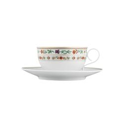 CARLO RAJASTHAN Tea cup, saucer | Dinnerware | FÜRSTENBERG
