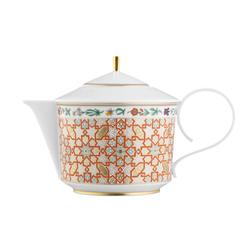 CARLO RAJASTHAN Teapot with tea strainer | Dinnerware | FÜRSTENBERG