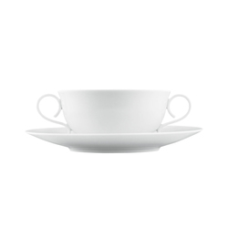 CARLO WEISS Soup cup, saucer | Services de table | FÜRSTENBERG