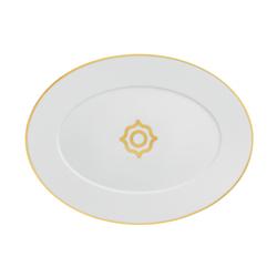 CARLO ORO Platter oval | Dinnerware | FÜRSTENBERG