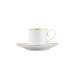 CARLO ORO Espresso cup, saucer | Dinnerware | FÜRSTENBERG