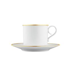 CARLO ORO Cappuccino cup, saucer | Dinnerware | FÜRSTENBERG