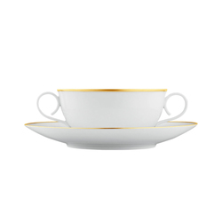 CARLO ORO Soup cup, saucer | Services de table | FÜRSTENBERG