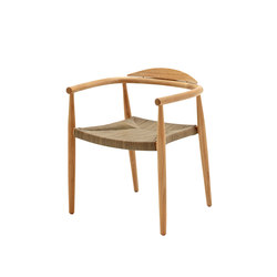Dansk Stacking Chair | Garden chairs | Gloster Furniture