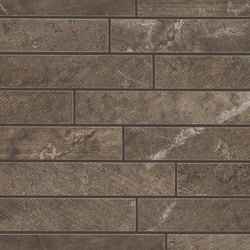 Blend Brown Mosaic | Mosaicos de cerámica | Marazzi Group