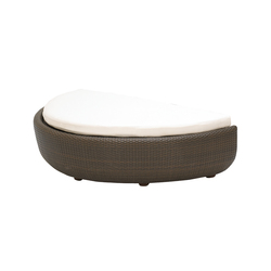 Eclipse Footstool | Gartenhocker | Gloster Furniture