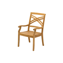 Halifax Dining Chair with Arms | Sièges de jardin | Gloster Furniture