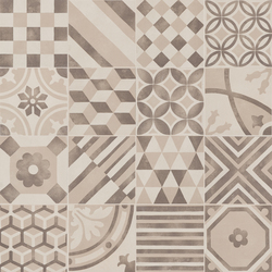 Block Decoro Mix White/Greige/Mocha | Ceramic mosaics | Marazzi Group