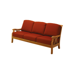 Halifax Deep Seating 3-Seater Sofa | Gartensofas | Gloster Furniture